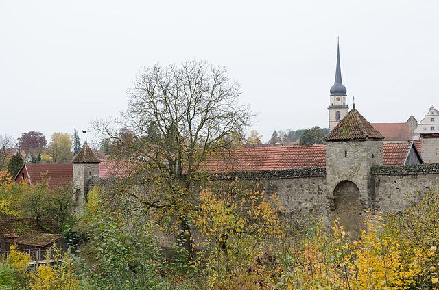 Stadtmauer, Fladungen Germany