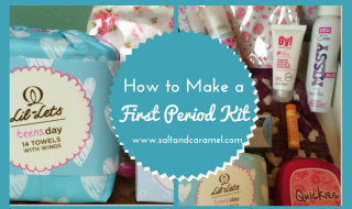 How to Make a First Period Kit