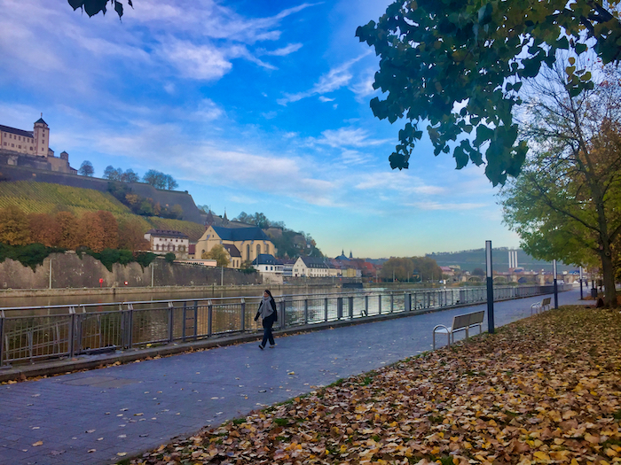Walk from Wurzburg Cruise Port