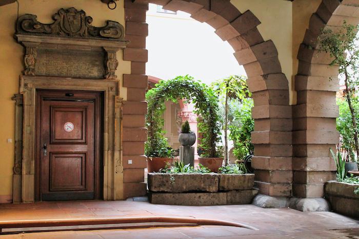 Courtyard Wurzburg City Hall